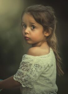 girl, sad, worried