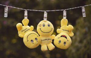 smiley, plush, emoticon